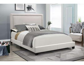 Tatum Series Upholstered Bed in Grey 8055