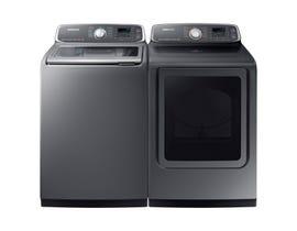 Samsung Laundry Pair 6.0 cu. ft. Washer WA52M7755AP & 7.4 cu. ft. Electric Dryer DVE52M7750P