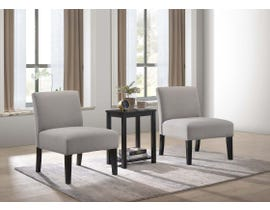 K Elite WA-639 Accent Chairs with Occational Table WA-639