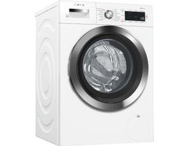 Bosch 800 series 24 inch 2.2 cu. ft. High-Efficiency Front Load Steam Washer in White WAW285H2UC
