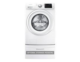 Samsung 27 inch 5.2 cu. ft. Front Load Washer in White WF45M5100AW