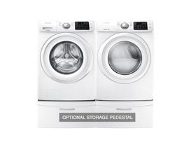 Samsung Laundry Pair Front Load with Washer WF45M5100AW and Electric Dryer DV42H5000EW