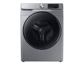 Samsung 4.5 cu. ft. Front Load Washer with Steam in Platinum WF45R6100AP