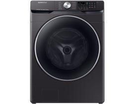 Samsung 5.2 cu. ft. Smart Front Load Washer with Super Speed in Black Stainless Steel WF45R6300AV