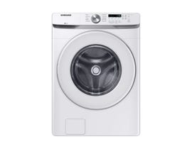 Samsung 5.2 cu. ft. Front Load Shallow-Depth Washer in White WF45T6000AW