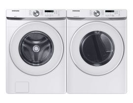Samsung Laundry Pair 5.2 cu. ft. Washer WF45T6000AW & 7.5 cu. ft. Electric Dryer DVE45T6005W