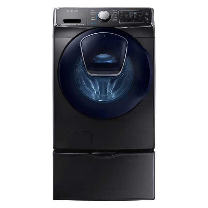 Samsung 5.0 cu. ft. front load washer with AddWash in black stainless WF50K7500AV