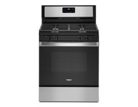 Whirlpool 30 inch 5.0 cu. ft. Gas Range with SpeedHeat Burner in Stainless Steel WFG515S0JS