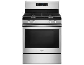 Whirlpool 30 inch 5.0 cu.ft. Gas Range With Fan Convection Cooking in stainless steel WFG520S0FS
