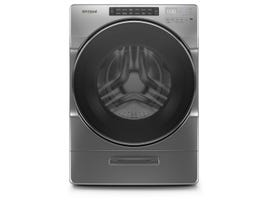 Whirpool 27 Inch Front Load Washer with Load & Go XL Dispenser WFW6620HC