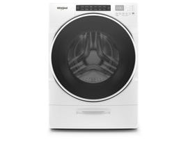 Whirlpool 27 inch 5.2 cu. ft. Front Load Washer with Load & Go XL Dispenser WFW6620HW