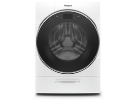 Whirlpool 5.8 cu. ft. Smart Front Load Washer with Load & Go XL Plus Dispenser in White WFW9620HW