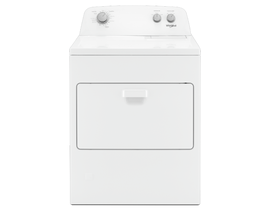 Whirlpool 29 inch 7.0 cu. ft. Gas Dryer with AutoDry Drying System in White WGD4850HW
