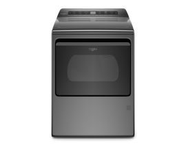 Whirlpool 7.4 cu. ft. Top Load Gas Dryer with Intuitive Controls in Chrome Shadow WGD5100HC