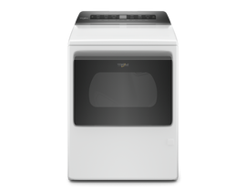 Whirlpool 7.4 cu. ft. Top Load Gas Dryer with Intuitive Controls in White WGD5100HW