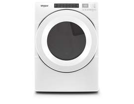 Whirlpool 27 Inch 7.4 cu. ft. Front Load Gas Dryer WGD5620HW
