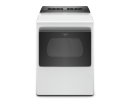 Whirlpool 7.4 cu. ft. Smart Top Load Gas Dryer in White WGD6120HW