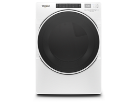 Whirlpool 27 Inch 7.4 Cu.Ft Front Load Gas Dryer In White WGD6620HW
