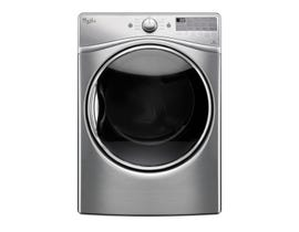 Whirlpool 7.4 cu.ft. Gas Dryer with Advanced Moisture Sensing in diamond steel WGD92HEFU