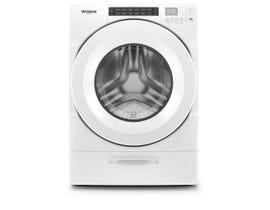 Whirlpool 27 Inch 5.2 cu. ft. Front Load Washer with Load & Go Dispenser WFW5620HW