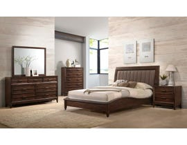 New Classic Home Furnishings Windsong Wood 6-piece Queen Bedroom Set B856