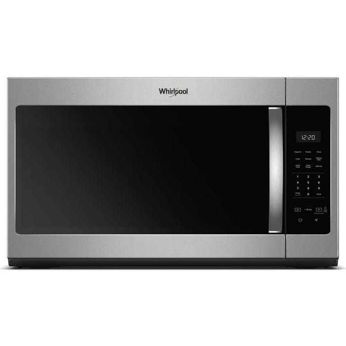 Whirlpool 30 inch 1.7 cu ft Over-the-Range Microwave Fingerprint Resistant Stainless Steel YWMH31017HZ