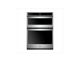 """Whirlpool 30"""" 6.4 cu. ft. Smart Combination Wall Oven with Touchscreen in Stainless Steel WOC54EC0HS"""