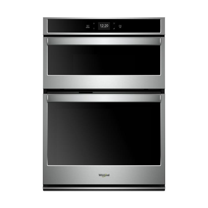 Whirlpool 5.7 cu. ft. Smart Combination Wall Oven with Touchscreen WOC54EC7HS