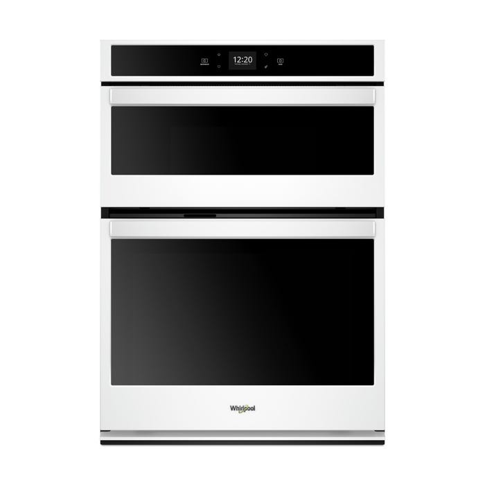 Whirlpool 5.7 cu. ft. Smart Combination Wall Oven with Touchscreen WOC54EC7HW