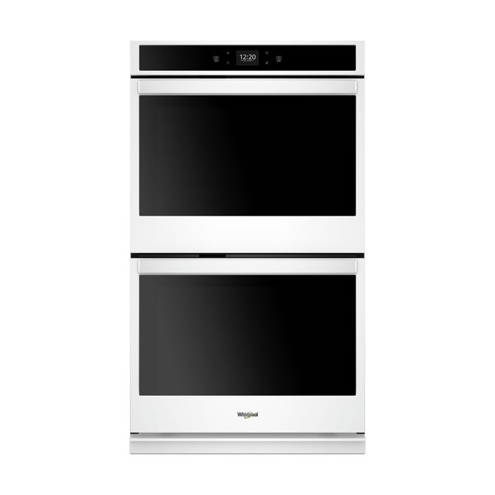 Whirlpool 8.6 cu. ft. Smart Double Wall Oven with Touchscreen WOD51EC7HW