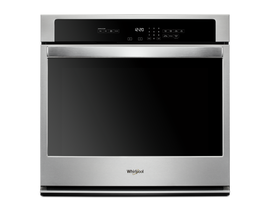 "Whirlpool 30"" 5.0 cu. ft. Single Wall Oven in Stainless Steel WOS31ES0JS"