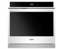 Whirlpool 30 inch 5.0 cu. ft. Smart Single Wall Oven in White WOS51EC0HW