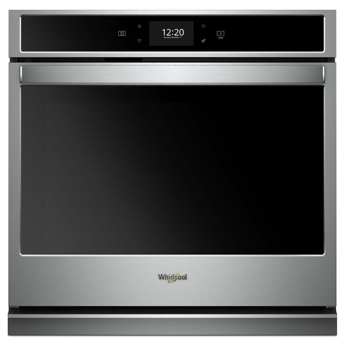 Whirlpool 5.0 cu.ft. Smart Single Wall Oven with True Convection Cooking WOS72EC0HS