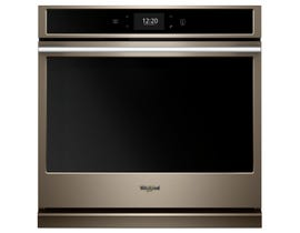 Whirlpool 5.0 cu.ft. Smart Single Wall Oven with True Convection Cooking WOSA2EC0HN