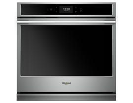 Whirlpool 5.0 cu. ft. Smart Single Wall Oven with True Convection Cooking WOSA2EC0HZ