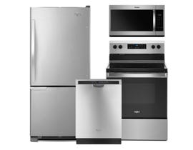 Whirlpool 3pc Appliance Package in Stainless Steel 089771 124725 099820