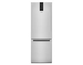 Whirlpool 24 inch 12.9 cu. ft. Bottom-Freezer Refrigerator in Stainless Steel WRB543CMJZ