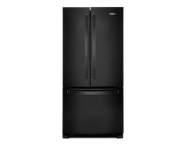"Whirlpool 33"" 22 cu. ft. French Door Refrigerator in Black WRF532SMHB"