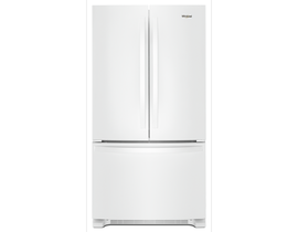 """Whirlpool 33"""" 22 cu. ft. French Door Refrigerator in White WRF532SMHW"""