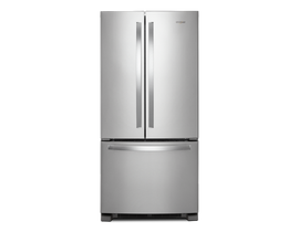 "Whirlpool 33"" 22 cu. ft. French Door Refrigerator in Stainless Steel WRF532SMHZ"