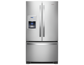"Whirlpool 36"" 20 cu. ft. Counter-Depth French Door Refrigerator in Stainless Steel WRF550CDHZ"
