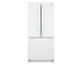 "Whirlpool 30"" 20 cu. ft. French Door Refrigerator in White WRF560SMHW"