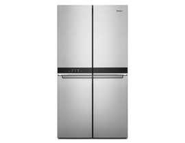 Whirlpool 36 inch 19.4 cu. ft. Counter Depth 4 Door Refrigerator in Stainless Steel WRQA59CNKZ