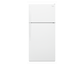 "Whirlpool 28"" 14 cu. ft. Top-Freezer Refrigerator in White WRT134TFDW"