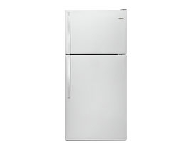 Whirlpool 30 inch 18 cu. ft. Top-Freezer Refrigerator in Stainless Steel WRT148FZDM