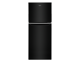 "Whirlpool 24"" 11.6 cu. ft. Top-Freezer Refrigerator in Black WRT312CZJB"