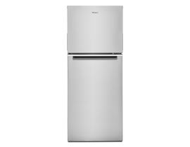 "Whirlpool 24"" 11.6 cu. ft. Top-Freezer Refrigerator in Stainless Steel WRT312CZJZ"
