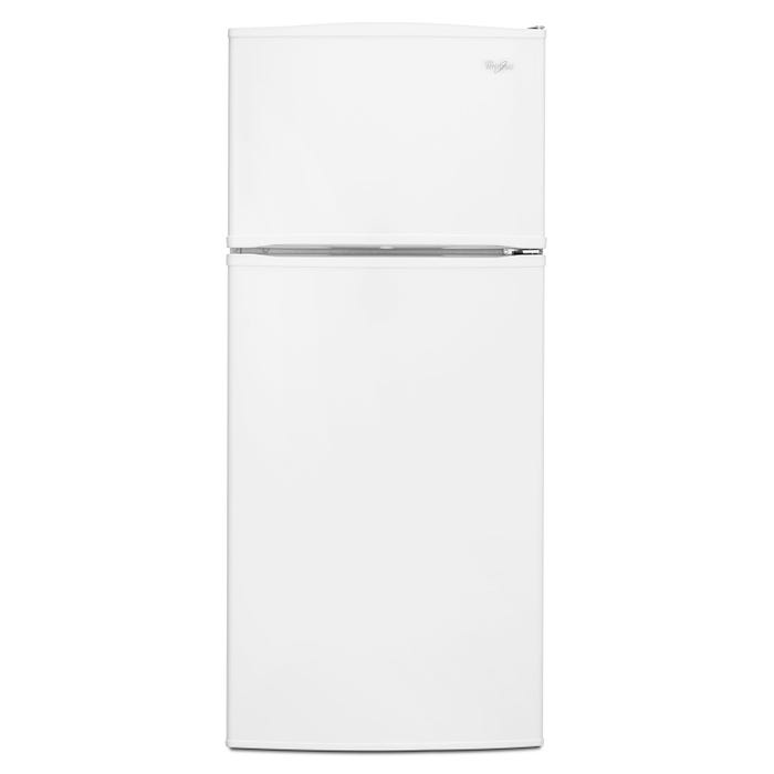 Whirlpool 28 inch 16 cu.ft. Wide Top Freezer Refrigerator with Improved Design in white WRT316SFDW