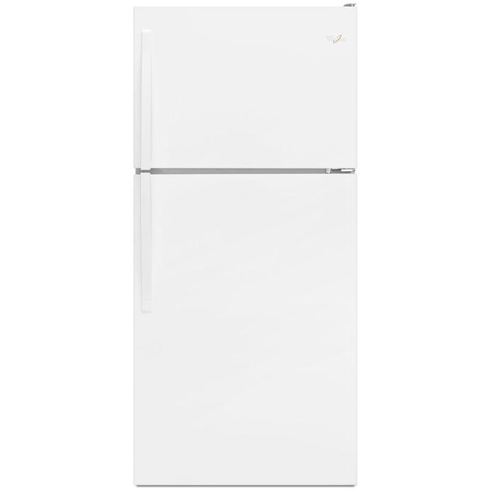 Whirlpool  30 inch Wide 18 cu.ft. Top Freezer Refrigerator with Flexi Slide Bin in white WRT318FZDW