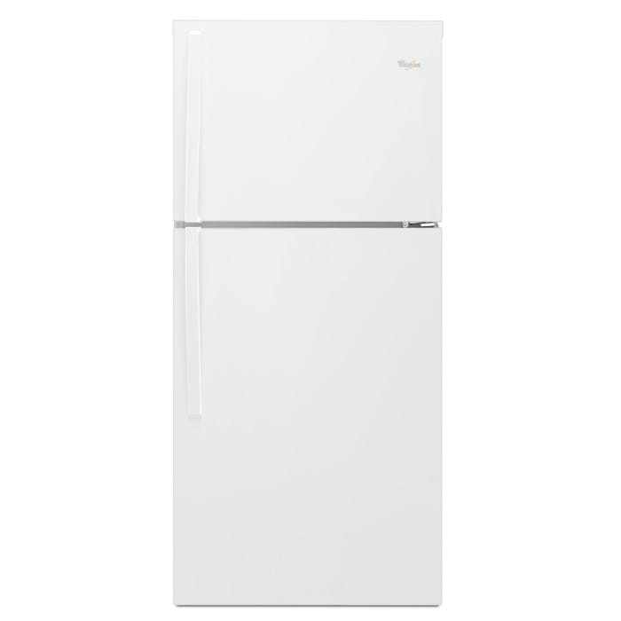 Whirlpool 30 inch Wide 19 cu.ft. Top Freezer Refrigerator EZ Connect Icemaker Kit Compatible in white WRT519SZDW